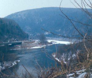 Delaware Water Gap in Winter