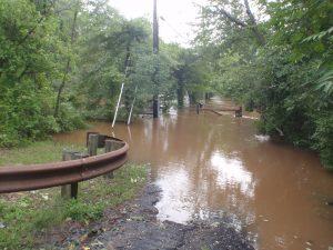 Flooding after Hurricane Irene