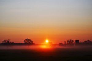 Sunrise in Delaware